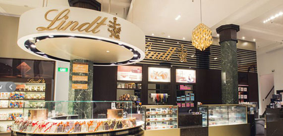 Lindt Chocolate Cafe
